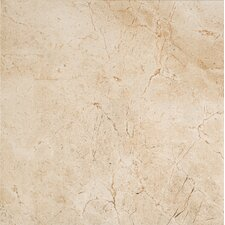 "<strong>Marazzi</strong> Timeless Collection 12- 15/16"" x 12 -15/16"" Field Tile in Marfil Cream"