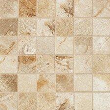 """Vesale Stone 2"""" x 2"""" Decorative Square Mosaic in Sand"""