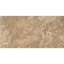"""Artea Stone 6-1/2"""" x 13"""" Modular Tile in Cappuccino"""