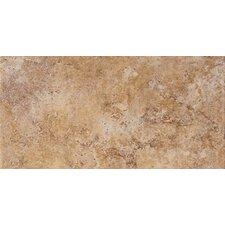"""Tosca 6- 1/2"""" x 13"""" Modular Tile in Noce"""