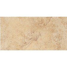 """Tosca 6 -1/2"""" x 13"""" Modular Tile in Ivory"""