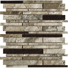 Archaeology Random Sized ColorBody Porcelain Stoneware Glazed Mosaic in Crystal River