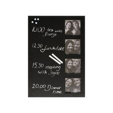 Pt Quattro Pictures Memo and Chalk Board in Black