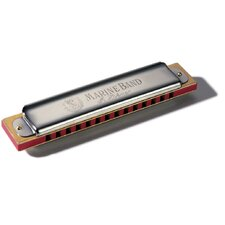 Marine Band 14 Hole Harmonica in Chrome - Key of C