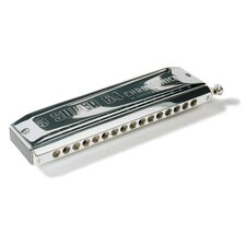 Super 64 Chromonica Harmonica in Chrome - Key of C