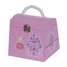 Libby Girl's Musical Ballerina Jewelry Box
