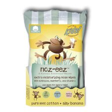 Natural Essentials Noz-Eez Silly Banana Nose Wipes