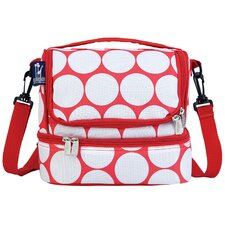 <strong>Wildkin</strong> Ashley Big Dot Double Decker Lunch Bag