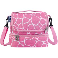 Ashley Giraffe Double Decker Lunch Bag