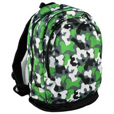 Camoflauge Backpack in Green