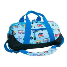 Astronaut Trains, Planes and Trucks Kid Duffel Bag