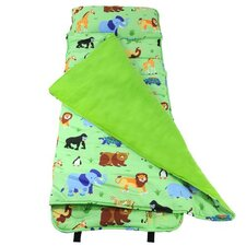 <strong>Wildkin</strong> Olive Kids Wild Animals Nap Mat in Green