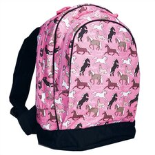 Horses in Pink Sidekick Backpack