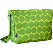 Big Dots Laptop Messenger Bag