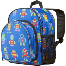 Olive Kids Robots Pack'n Snack Backpack