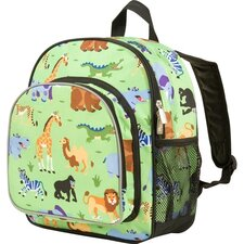 "Olive Kids Wild Animals Pack ""N Snack Backpack"