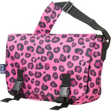 Jumpstart Leopard Messenger Bag