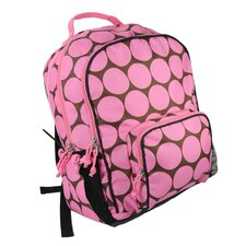 Big Dots Pink Macropak Backpack