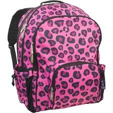 Pink Leopard Macropak Backpack