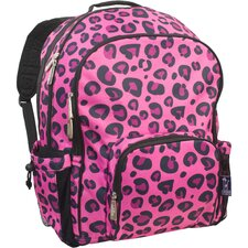 Solid Colors Leopard Straight-Up Macropak Backpack