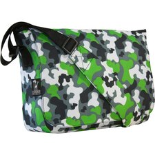 Green Camo Kickstart Messenger Bag