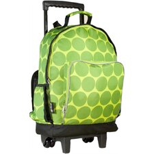 Ashley Big Dots High Roller Rolling Backpack