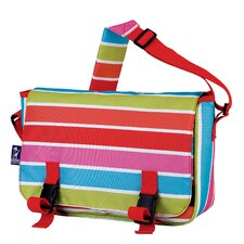 Bright Stripes Jumpstart Messenger Bag