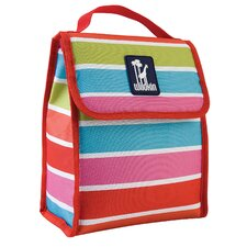 Ashley Bright Stripes Munch 'N Lunch Bag