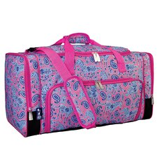 Watercolor Ponies Pink Weekender