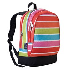 <strong>Wildkin</strong> Ashley Bright Stripes Sidekick Backpack