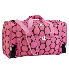 "Ashley Big Dot 22"" Weekender Duffel Bag"