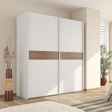 Julia 2 Door Plain Sliding Wardrobe