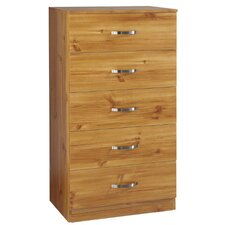 Panama 5 Drawer Chest
