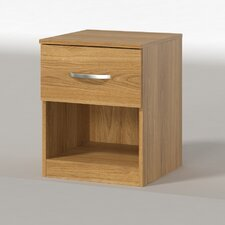 Panama 1 Drawer Bedside Table