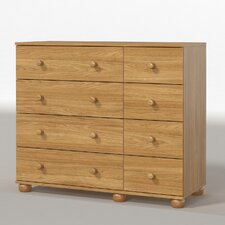 Dorset 8 Drawer Chest