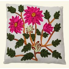 Cushion Cover with Floral Pattern