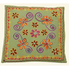 45cm Cushion Cover with Floral Pattern