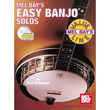Value Line Easy Banjo Solos Book
