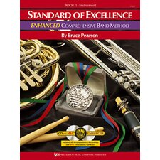 Standard of Excellence Enhanced Comprehensive Band Method - Book 1 Flute