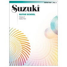 Suzuki Guitar School Guitar Part, Volume 5