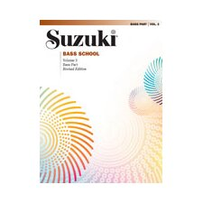 Suzuki Bass School Bass Part, Volume 3