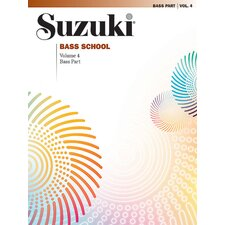 Suzuki Bass School Bass Part, Volume 4