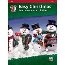 Easy Christmas Instrumental Solos, Level 1: Flute (Book and CD)