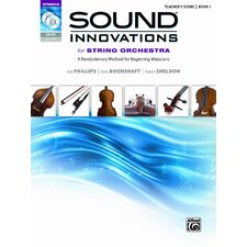 Sound Innovations for String Orchestra, Book 1 (Score, CD and DVD)