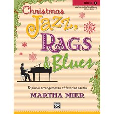 Christmas Jazz, Rags and Blues, Book 5