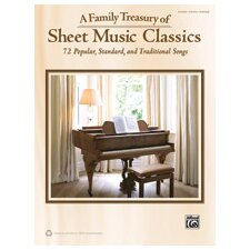 Family Treasury of Sheet Music Classics