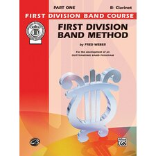 First Division Band Method, Part 1 Book Clarinet By Fred Weber