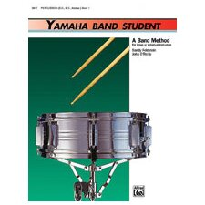 Yamaha Band Student, Book 1: Percussion