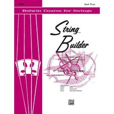 String Builder: Book 3 (Viola - Belwin/Mills Publication)