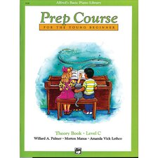 Basic Piano Prep Course: Theory Book C
